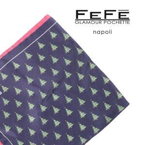 FEFE フェフェグラマー ポケットチーフ メンズ シルク100% マルチカラー 並行輸入品 utsubostock