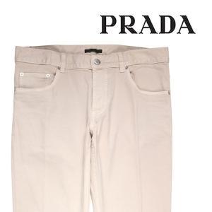 PRADA コットンパンツ メンズ 32/L ホワイト 白 GEP010 プラダ 並行輸入品|utsubostock