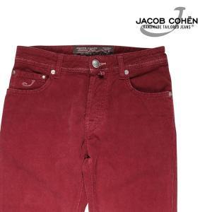 【30】 JACOB COHEN ヤコブコーエン コーデュロイパンツ PW688 08783 メンズ 秋冬 レッド 赤 並行輸入品 ズボン|utsubostock