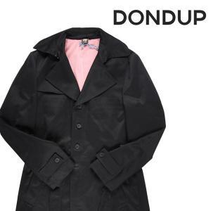 DONDUP コート メンズ 秋冬 52/2XL ブラック 黒 ダンドップ 大きいサイズ 並行輸入品|utsubostock