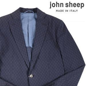 【46】 JOHN SHEEP ジョン・シープ ジャケット メンズ 春夏 リネン混 ネイビー 紺 並行輸入品 アウター トップス|utsubostock