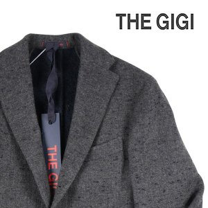 【52】 THE GIGI ザ ジジ ジャケット DEGAS/E085820 メンズ 秋冬 モヘア混 グレー 灰色 並行輸入品 アウター トップス 大きいサイズ|utsubostock