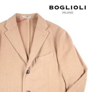 BOGLIOLI カシミヤ100% ジャケット R3302J BBP431/835 beige 50 10971【W10974】|utsubostock