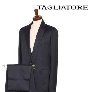 TAGLIATORE スーツ メンズ 秋冬 52/2XL ブラック 黒 REDA社素材使用 06UPZ156 タリアトーレ 大きいサイズ 並行輸入品|utsubostock