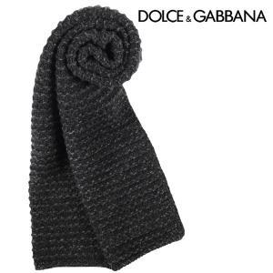 Dolce&Gabbana カシミヤ混 マフラー GIS60KF49GP black【W11159】|utsubostock