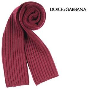 Dolce&Gabbana マフラー メンズ 秋冬 レッド 赤 カシミヤ混 ドルチェ&ガッバーナ 並行輸入品|utsubostock