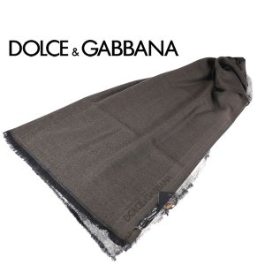 Dolce&Gabbana マフラー メンズ 秋冬 グレー 灰色 カシミヤ100% ドルチェ&ガッバーナ 並行輸入品|utsubostock