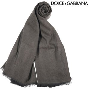 Dolce&Gabbana カシミヤ100% マフラー GQ202EG2Z41 khaki 11170KH【W11172】 ドルチェ&ガッバーナ|utsubostock