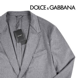 Dolce&Gabbana カシミヤ100% ジャケット G2DP7TFU2X light gray 58 11188LGY【W11208】|utsubostock