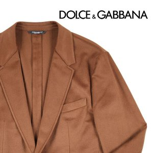 Dolce&Gabbana カシミヤ100% ジャケット G2DP7TFU2D2 brown 54 11209【W11211】|utsubostock
