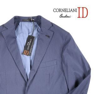 【46】 Corneliani ID docks ジャケット メンズ 春夏 ストライプ ネイビー 紺 並行輸入品 アウター トップス|utsubostock