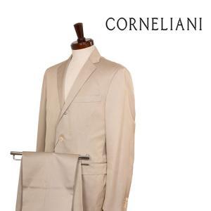 CORNELIANI スーツ メンズ 春夏 48/L ベージュ シルク混 コルネリアーニ 並行輸入品|utsubostock