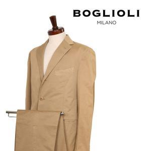 【50】 BOGLIOLI ボリオリ スーツ R31S2G メンズ 春夏 リネン混 ブラウン 茶 並行輸入品|utsubostock