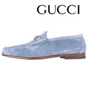 GUCCI シューズ メンズ ブルー 青 CAU1602 グッチ 並行輸入品|utsubostock