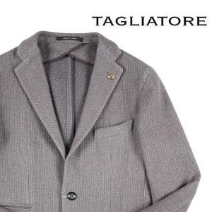 TAGLIATORE カシミヤ混 ジャケット 56UIT131 gray 46 11441【W11443】|utsubostock