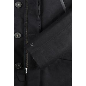 PEUTEREY コート メンズ ブラック 黒 48/L PEU1793 並行輸入品|utsubostock|03