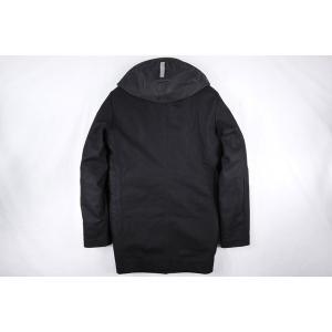 PEUTEREY コート メンズ ブラック 黒 48/L PEU1793 並行輸入品|utsubostock|04