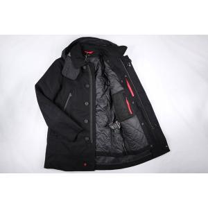 PEUTEREY コート メンズ ブラック 黒 48/L PEU1793 並行輸入品|utsubostock|05