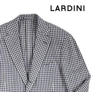 LARDINI ジャケット メンズ 春夏 52/2XL ネイビー 紺 ラルディーニ 大きいサイズ 並行輸入品|utsubostock