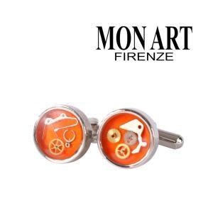 MONART カフス SPK orange 11753OR【A11754】|utsubostock