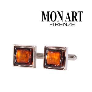 MONART カフス メンズ オレンジ モナート 並行輸入品|utsubostock