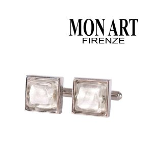 MONART カフス メンズ シルバー 銀色 モナート 並行輸入品|utsubostock