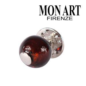 MONART モナート ラペルピン メンズ レッド 赤 並行輸入品|utsubostock