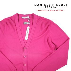 DANIELE FIESOLI カーディガン 28006 pink M【S11898】|utsubostock