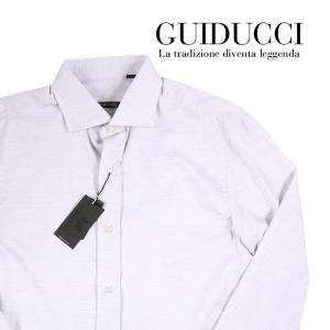 【40】 GUIDUCCI グイドゥッチ 長袖シャツ メンズ グレー 灰色 並行輸入品 ビジネスシャツ|utsubostock