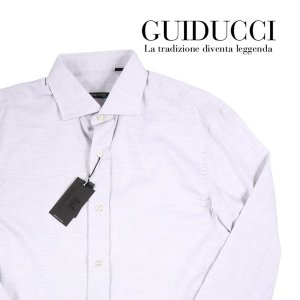 【42】 GUIDUCCI グイドゥッチ 長袖シャツ メンズ グレー 灰色 並行輸入品 ビジネスシャツ 大きいサイズ|utsubostock