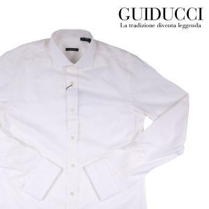 GUIDUCCI 長袖シャツ GU0025 cream 42 11962CM【A11977】 グイドゥッチ|utsubostock