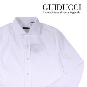 GUIDUCCI 長袖シャツ メンズ 39/M ホワイト 白 グイドゥッチ 並行輸入品|utsubostock