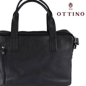 Ottino トートバッグ メンズ ブラック 黒 オッティーノ 並行輸入品|utsubostock