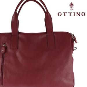 Ottino トートバッグ メンズ レッド 赤 オッティーノ 並行輸入品|utsubostock