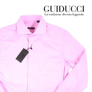 【41】 GUIDUCCI グイドゥッチ 長袖シャツ メンズ パープル 紫 並行輸入品 ビジネスシャツ|utsubostock