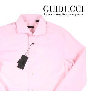 GUIDUCCI 長袖シャツ メンズ 39/M ピンク グイドゥッチ 並行輸入品|utsubostock