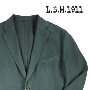 【58】 L.B.M.1911 エルビーエム ジャケット 65746/3 メンズ 春夏 リネン混 グリーン 緑 並行輸入品 アウター トップス 大きいサイズ|utsubostock