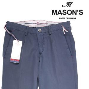 MASON'S コットンパンツ メンズ 春夏 44/S ネイビー 紺 メイソンズ 並行輸入品|utsubostock