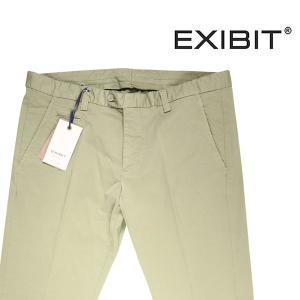 EXIBIT コットンパンツ メンズ 54/3XL グリーン 緑 エグジビット 大きいサイズ 並行輸入品|utsubostock