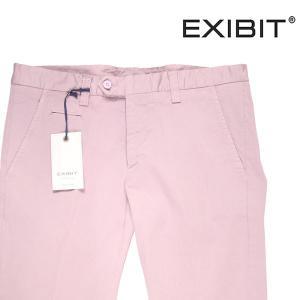 【50】 EXIBIT エグジビット コットンパンツ メンズ ピンク 並行輸入品 ズボン|utsubostock