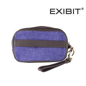 EXIBIT ポーチ BR51C51 blue【A13112】|utsubostock