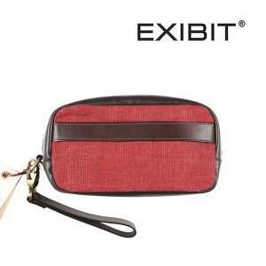 EXIBIT ポーチ BR51C21 red【A13113】|utsubostock