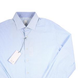 luxuryCIT 長袖シャツ メンズ 44/4XL ブルー 青 ラグジュアリーシット 大きいサイズ 並行輸入品|utsubostock