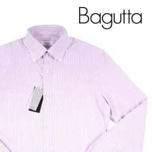 Bagutta 長袖シャツ メンズ 37/XS バグッタ 並行輸入品|utsubostock