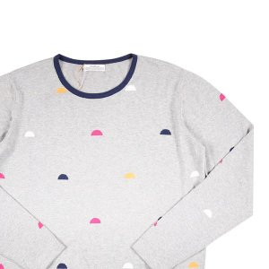 【L】 Authentic オーセンティック 丸首セーター メンズ グレー 灰色 並行輸入品 ニット|utsubostock
