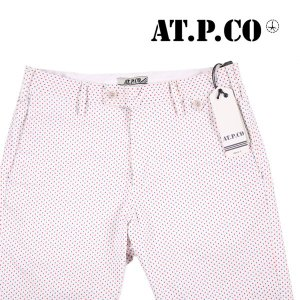 AT.P.CO 水玉 ハーフパンツ 5028TSB white 44 13325【S13325】 アティピコ|utsubostock