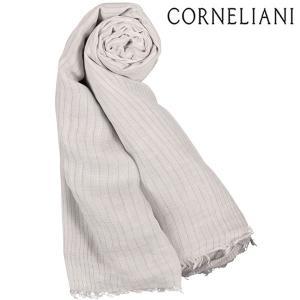 CORNELIANI コルネリアーニ ストール メンズ ホワイト 白 並行輸入品|utsubostock