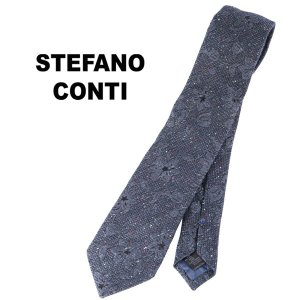 stefano conti ネクタイ メンズ ネイビー 紺 ステファノ・コンティ 並行輸入品|utsubostock