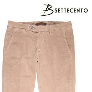 B SETTECENTO コットンパンツ メンズ 30/M ベージュ ビーセッテチェント 並行輸入品 utsubostock