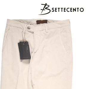 【29】 B SETTECENTO ビーセッテチェント コットンパンツ メンズ ホワイト 白 並行輸入品 ズボン|utsubostock